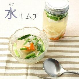 青唐辛子の水キムチ 500g 冷やして爽快!「飲む」キムチ 酒の肴 ご飯の友 韓国料理