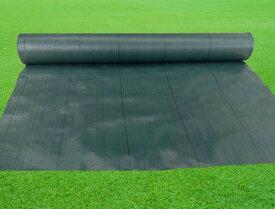 KS 防草シート 135G/m2 幅2m×100m巻 UV添加剤入 グリーン ◆お届け先個人様向け不可