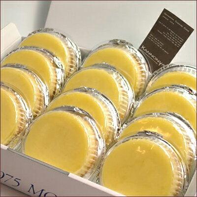 【注文殺到中につき配送日はご指定頂けません】【神戸名物】観音屋デンマークチーズケーキ12個入り
