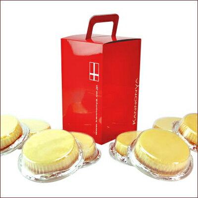 【注文殺到中につき配送日はご指定頂けません】【神戸名物】観音屋デンマークチーズケーキ8個入り