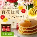 【母の日ギフト】【送料無料】国産百花蜂蜜(500g×2本)ギフトセット蜂蜜専門店 かの蜂