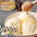 数量限定 蜂蜜ギフト 蜂蜜アイス12個セット(4種×3)冷凍便 送料無料 国産 アイスクリーム ミルク ストロベリー 抹茶…