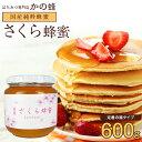 国産 さくら蜂蜜 600g 国産純粋蜂蜜 数量限定 完熟 はちみつ 桜蜂蜜専門店 かの蜂