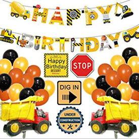 トラック バルーン 誕生日 バースデー パーティー 風船 セット お祝い 飾り付け 男の子 誕生日会 乗り物 幼稚園 小学生 インスタ映え 消防車 撮影 プレゼント ポイント 消費 新品