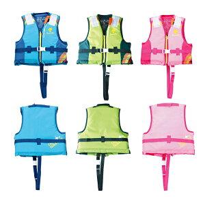 ライフジャケット 子供 キッズ フローティングベスト マリン 海水浴 安全 水遊び 海 シュノーケル ts-8717