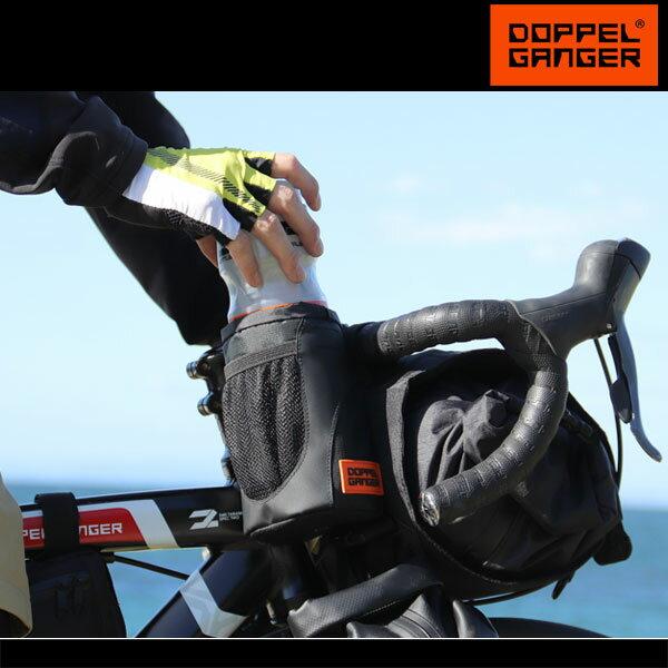 ステムバッグ サイクルバッグ 自転車 大容量 ロードバイク ドッペルギャンガー DOPPELGANGER メガマウスステムバッグ dbf459-bk