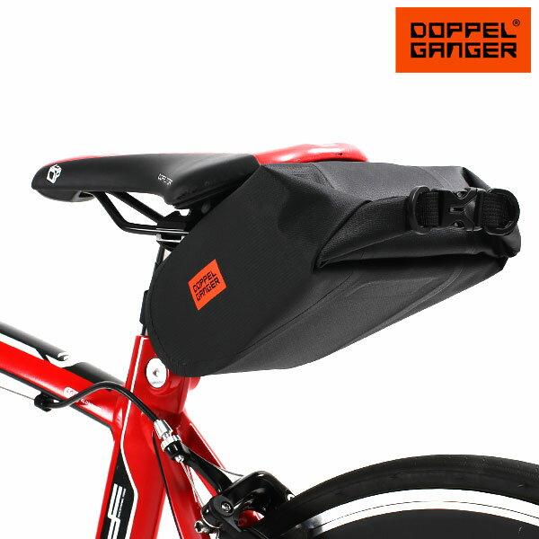 サドルバッグ サイクルバッグ 自転車 大容量 ロードバイク ドッペルギャンガー DOPPELGANGER パズルサドルバッグ dbs444-bk