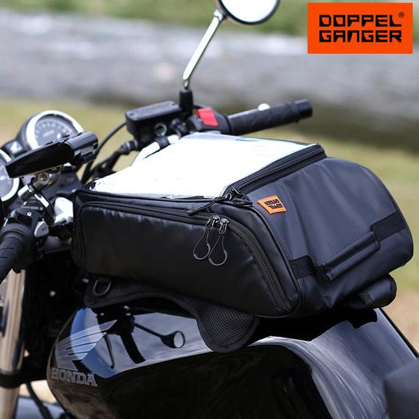 バイク タンクバック 大容量 ワンショルダー リュック ドッペルギャンガー DOPPELGANGER ターポリンタンクバッグ dbt392