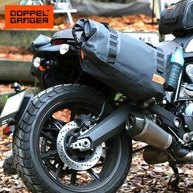 サイドバッグ バイク 防水 大容量 ドッペルギャンガー DOPPELGANGER ターポリンサイドバッグ dbt393-bk