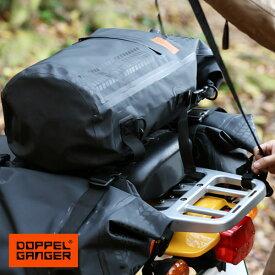 シートバッグ バイク 防水 大容量 ワンショルダー リュック ドッペルギャンガー DOPPELGANGER ターポリンデイバッグ dbt420