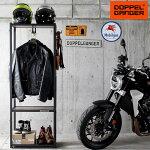 ライダースジャケットハンガーヘルメットスタンドライダーズギアハンガーdds501-bk