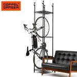 自転車ラックスタンドバイク突っ張り置き場ドッペルギャンガーDOPPELGANGERバイシクルハンガーdds560-bk