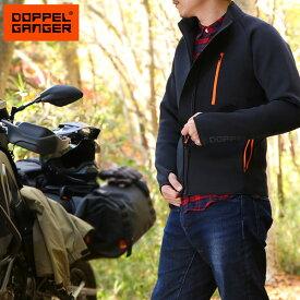 【あす楽】DOPPELGANGER ライダースインナージャケット DMA604L-BK ライダースジャケット M L XL メンズ バイク ドッペルギャンガー