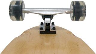 スケートボードコンプリートデッキスケボークルーザーキッズウィールベアリング31インチサーフ
