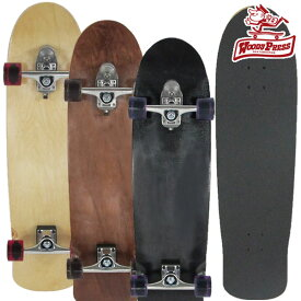 WOODYPRESS スケボー コンプリート スケートボード 35インチ スラスター2 サーフスケート 初心者 キッズ 無地 クルーザー woody press ウッディプレス