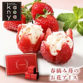 イチゴアイス 苺アイス アイス アイスクリーム お歳暮 内祝い 出産内祝い 快気内祝い 結婚祝い お礼 お返し お祝い 贈り物 ご挨拶 お花のようないちごアイス15個入