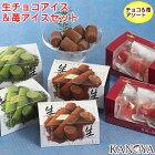 【送料無料】生チョコアイス&苺アイスセット