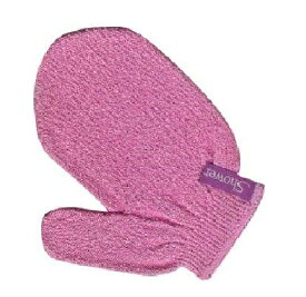 Showerson faceシャワーソン・フェイス 1枚(片手分)色はピンクのみ 【メール便可】あかすり ミトン 手袋 肌に優しい 特許繊維 肌を傷つけない 気持ちいい 柔らかい