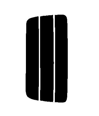 ▼簡単ハードコートフィルム リヤのみ セレナ C26・FNC26・HFC26・NC26・FC26 カット済みカーフィルム