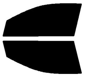 送料無料 高性能透明断熱 運転席、助手席 カローラアクシオ NZE141・ZRE142・NZE144 カット済みカーフィルム アイケーシー株式会社