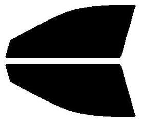 高性能透明断熱 運転席、助手席 クラウン セダン GRS200・GRS201・GRS202・GRS203・GRS204・GWS204 カット済みカーフィルム アイケーシー株式会社