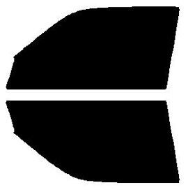 高性能透明断熱 運転席、助手席 クラウン ハードトップ JZS151・JZS153・JZS155・JZS157・LS151・GS151 前期 カット済みカーフィルム アイケーシー株式会社