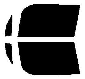 高性能透明断熱 運転席、助手席 ピクシススペース L575A・L585A カット済みカーフィルム アイケーシー株式会社