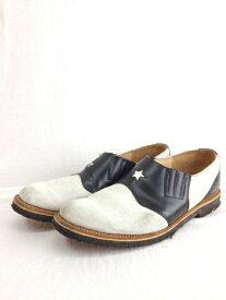 GEORGE COX NEXUSVII ジョージコックス ネクサスセブン ブラック ホワイト 28.5cm ブーツ/メンズ・ブーツ【中古】[☆2]