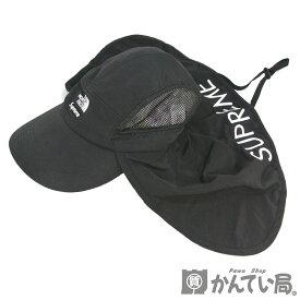 Supreme×The North Face【シュプリーム×ノースフェイス】2020SS Sun Shield Camp Cap サンシールド キャンプ キャップ 帽子 ブラック 取外し可能 フリーサイズ ブラック【USED-A】【質屋かんてい局名古屋西店】