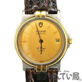 TUDOR 【チューダー(チュードル)】 15010 Le Royal ロイヤル クオーツ SS×YG ボーイズ ゴールド文字盤 腕時計 【中古】 USED-B 質屋 かんてい局名古屋西店