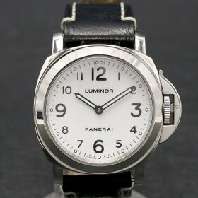 パネライ【PANERAI】PAM00010/ルミノールベース44MM/手巻き/B番/1999年頃/手巻き/ルミノバ/メンズ/WATCH【中古】