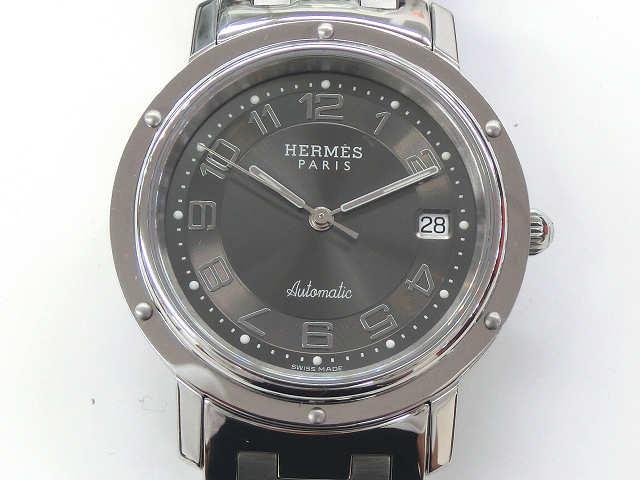 メンズ時計【中古】 HERMES エルメス クリッパー CL1.810 自動巻き【楽ギフ_包装選択】