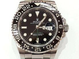 メンズ時計【中古】 ROLEX ロレックス GMTマスター2 116710LN ランダムシリアル(2010年以降) 黒×黒ベゼル 自動巻き オートマ【楽ギフ_包装選択】