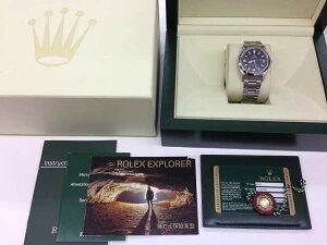 メンズ時計【中古】ROLEXロレックスエクスプローラー1114270(Z番)2006年頃【楽ギフ_包装選択】