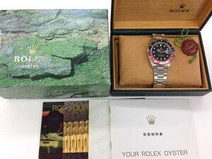 メンズ時計【中古】ROLEXロレックスGMTマスター216710(T番)1996年頃オーバーホール済み新品仕上げ済み【楽ギフ_包装選択】