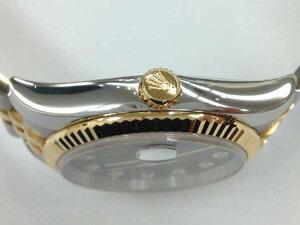 メンズ時計【中古】ROLEXロレックスデイトジャスト10Pダイヤ116233(E番)1990年頃【楽ギフ_包装選択】