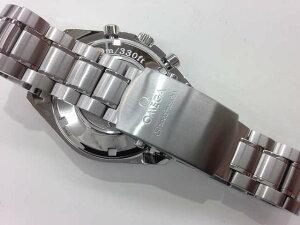 メンズ時計【中古】OMEGAオメガスピードマスタートリプルカレンダー3220.50自動巻きオートマデイデイト新品仕上げ済み【楽ギフ_包装選択】