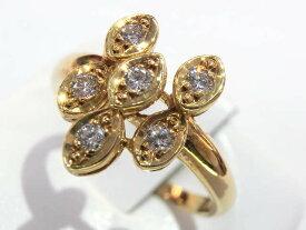 レディース【中古】 Christian Dior クリスチャンディオール ダイヤリング K18 D1.05ct #16.5 ゴールド 仕上げ済み【楽ギフ_包装選択】