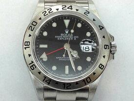 メンズ時計【中古】 ROLEX ロレックス エクスプローラー2 16570(Y番)2002年頃 オーバーホール済み 仕上げ済み【楽ギフ_包装選択】