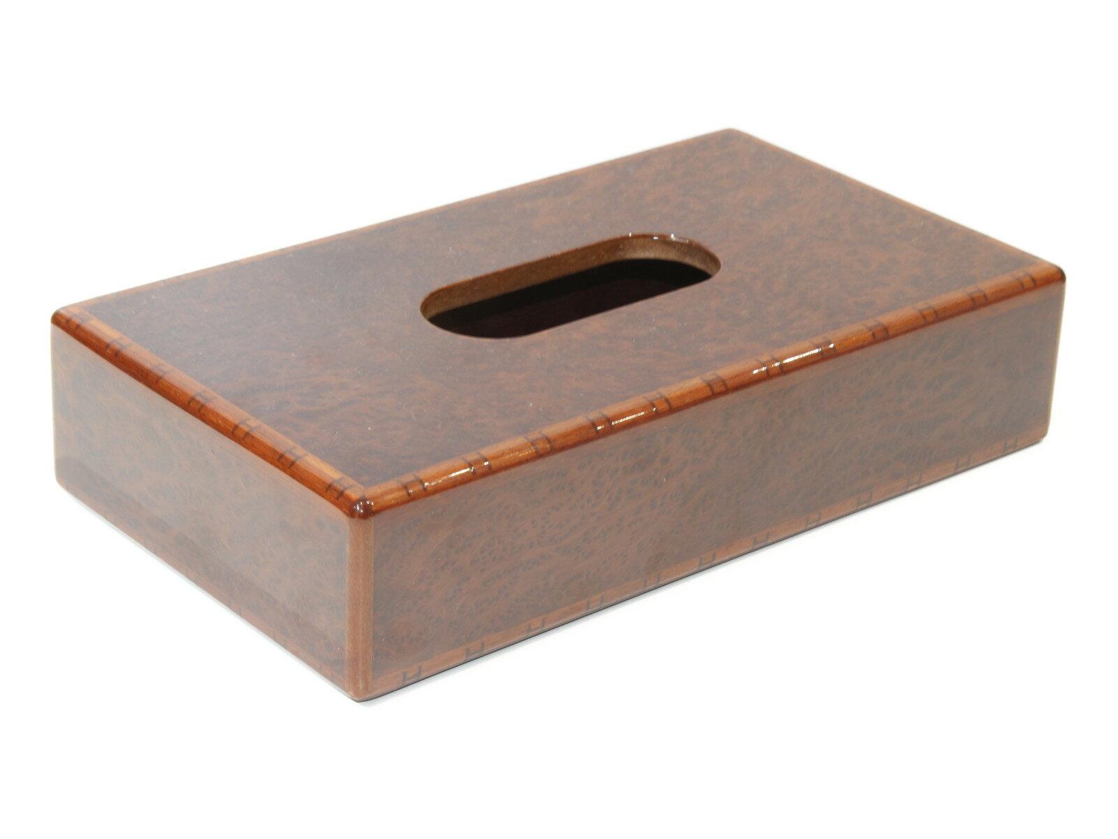 HERMES エルメスウッドティッシュボックスティッシュケース 木 レアインテリア プレゼント包装可【中古】