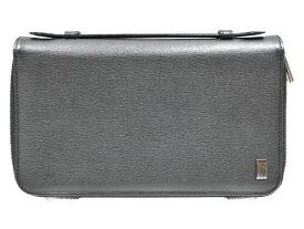 f3a050204fcf dunhill(ダンヒル) Wジップトラベルコンパニオン ウォレット 長財布 お財布バッグ シンプル メンズ