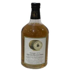 【未開封】ボウモア 1974 シグナトリー 23年 モリソン時代 700ml 50.1% シングルモルト ウイスキー【古酒・中古】
