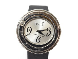 PIAGET ピアジェ ポセション P10402 750WG ホワイトゴールド ダイヤモンド 1粒ダイヤ レディース 腕時計 クオーツ 【中古】