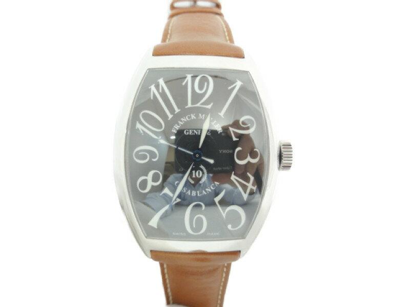 【FRANCK MULLE】フランクミュラー 8880C カサブランカ 10周年記念モデル メンズ 腕時計【中古】