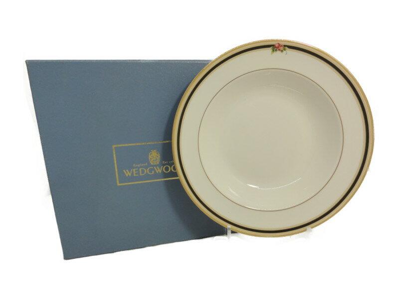 WEDG WOOD ウェッジウッド CLIO クリオ スーププレート 皿 20cm 6枚セット ボーンチャイナ【中古】