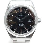OMEGAオメガシーマスターアクアテラ2518.50クォーツ腕時計メンズ【中古】