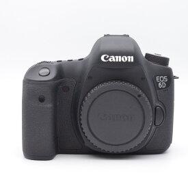 Canon キヤノン EOS 6D(WD)・ボディ ブラック デジタル一眼レフカメラ 本体 8035B001 【中古】
