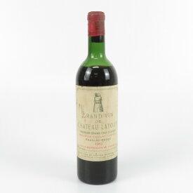 GRAND VIN DE CHATEAU LATOUR 1962 グラン ヴァン ド シャトー ラトゥール ワイン 赤 フランス 750ml 未開栓 【中古】
