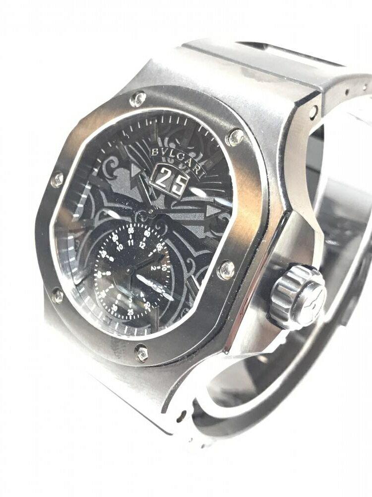 BVLGARI ブルガリ BRE56BSBLDCHS クロノスプリント ダニエル・ロート オールブラック メンズ腕時計