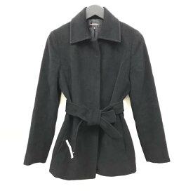 QUEENS COURT クイーンズコート ジャケット コート アウター サイズ2(M) 黒 ブラック レディース 婦人服 管理RY18004360